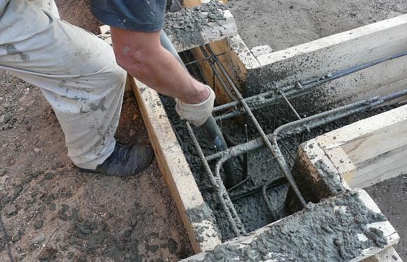 Заливка монолитного фундамента в Красногорске